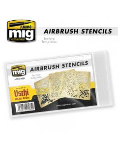 Airbrush Stencils Set (MIG8035)
