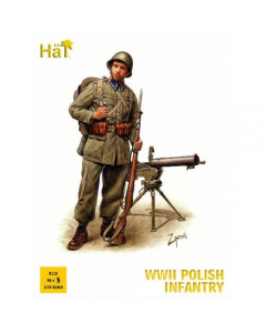 1/72 Poolse Infanterie WWII (HAT8115)