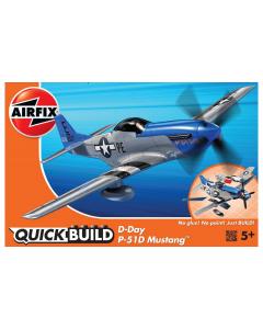 QUICKBUILD D-Day  P-51D Mustang Airfix 6046