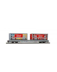"H0m RhB R-w 8210 Tragwagen ""Bündner Güterbahn"" Apfel & Hafen - Bemo 2291 120 Bemo 2291120"