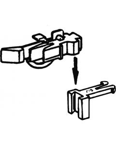 H0 Kortkoppelingen in hoogte verstelbaar (NEM362), 2 stuks (ROC40287)