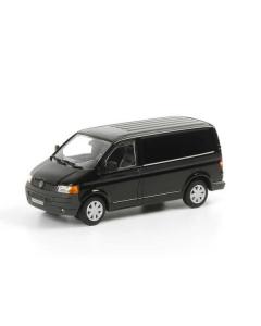 1:50 VW Transporter, zwart (WSI041027)