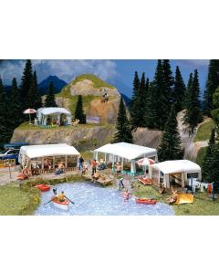 H0 Camping-caravan set (FAL130503)