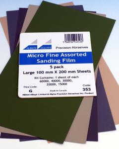 Micro Fine Sanding Kit Albion Alloys 353