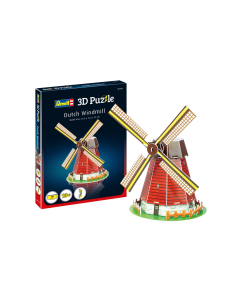 3D Puzzle Windmolen (REV00110)