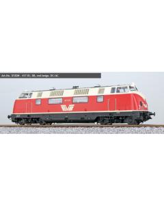 H0 DC/AC EVB diesellok 417 01 rood/beige, digitaal sound (ESU31334)
