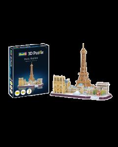3D Puzzle Paris Skyline (REV00141)