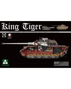 1/35  German  Sd.Kfz.182  King  Tiger  Porsch (TAK2046S)