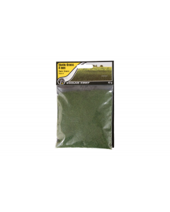 "4mm Static Grass ""Dark Green"" - Woodland FS617 (WOOFS617)"