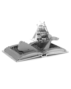 Metal Earth: Moby Dick Book Sculpture - MMS116 (MEA570116)