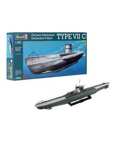 1/350 German Submarine Type VII C (REV05093)