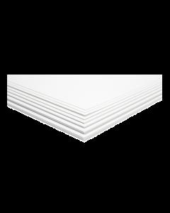 Polystyrol Plaat 1.0mm (25 x 50cm) (MOE91910)