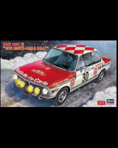"""1/24 BMW 2002 tii """"1975 Monte-Carlo Rally"""" - Hasegawa 20516 Hasegawa 20516"""