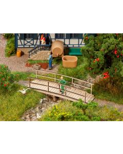 H0 Kleine houten brug Faller 180301