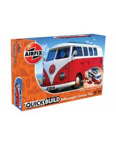 QUICKBUILD Volkswagen Camper Van Airfix 6017