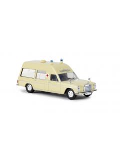 H0 MB  /8  Krankenwagen,  elfenbein (BRE13800)