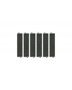 H0 My World Rechte Rails Set (Kunststof) - 6 stuks (171,7mm) (MAR23172)