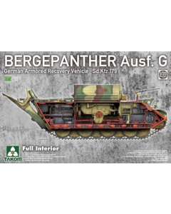 1/35 Bergepanther Ausf.G German Armored Recovery Vehicle (TAK2107)