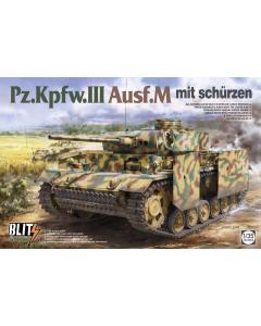 1/35 Pz.Kpfw. III Ausf. M mit schürzen (TAK8002)