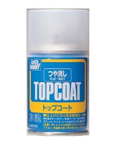 Mr. Topcoat Flat Spray 88ml Mr. Hobby 503