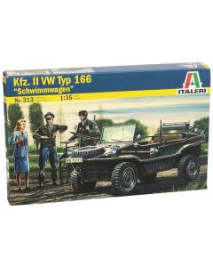 """1/35 Kfz.II VW Typ 166 """"Schwimmwagen"""" (ITA0313)"""