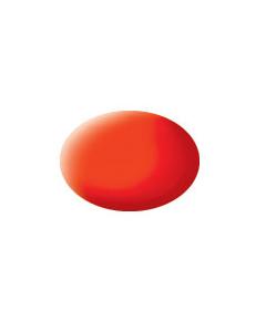 Nr.25 - Aqua Oranje Fluoriserend, mat (REV36125)