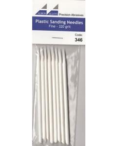 Sanding Needle White Fine, Grit 320 - 8 stuks Albion Alloys 346