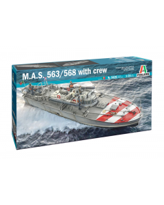 1/35 M.A.S.563/568 4a with Crew (ITA5626)