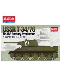 1/35  USSR  T-34/76  no.183  Factory  Product (ACA13505)