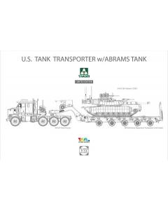 1/72 U.S. M1070 & M1000 w/ M1A2 SEP Abrams Tusk II (TAK5002X)