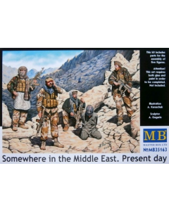 1/35 Somewhere in the Middle East. Present day (MAB35163)