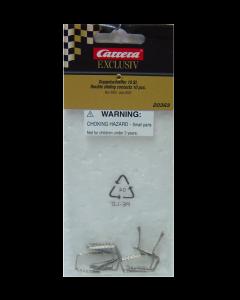 124 Slepers voor Carrera Exclusive en DIG124 (vanaf 2005), 10 stuks (CAR20363)