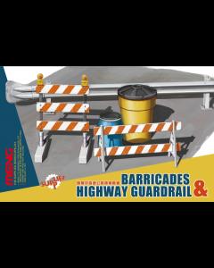 1/35 Barricades & Highway Guardrail Meng 013