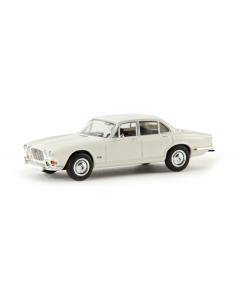 H0 Jaguar XJ 6, wit (BRE13655)