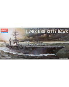 1/800  USS  CVN-63  Kitty  Hawk Academy 14210