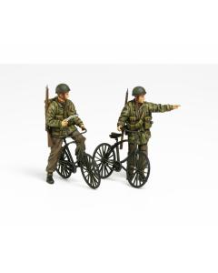 1/35 WWII British Paratroopers Set, Bicycles Tamiya 35333
