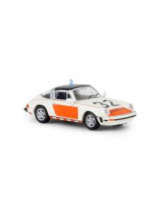 H0 Porsche 911 G Targa TD 1976, Rijkspolitie 32, (BRE16358)