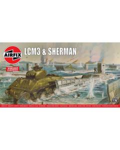 1/76 LCM3 & Sherman Airfix 03301
