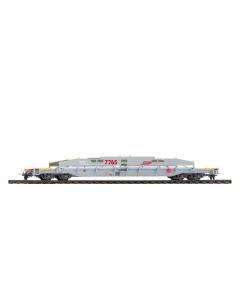 H0m RhB Sl 7765 ACTS-Tragwagen unbeladen - Bemo 2290 105 Bemo 2290105