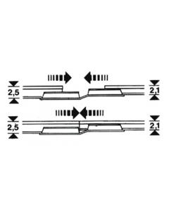 H0 Overgangsrailverbindingen (FLE6437)