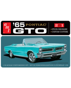 1/25 1965 Pontiac GTO (2 in 1) - AMT1191 AMT Models 1191