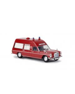 H0 MB  /8  Krankenwagen,  feuerrot (BRE13801)