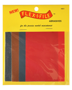 Flex-I-File Sheets (Grit 150/280/320/600), 8 stuks Albion Alloys 801
