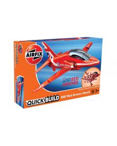 QUICKBUILD Red Arrows Hawk Airfix 6018