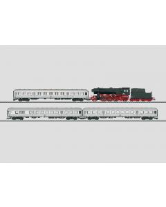 """H0 DB Treinset Stoomlocomotief BR 23 en 3-Passagiersrijtuigen """"Keertrein met Silberlingen"""" (MAR26543)"""