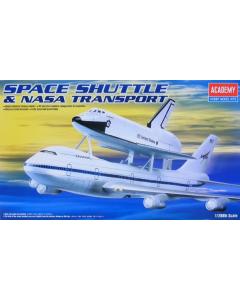 1/288  SPACE  SHUTTLE+747 (ACA12708)