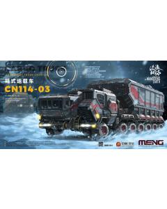 1/100 TWE Cargo Truck - Transport Truck CN114-03 Meng 001