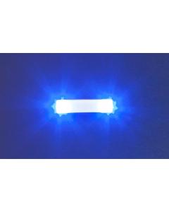 H0 Knipperlichten elektronica, 15,7 mm, blauw Faller 163763