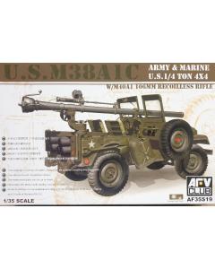 1/35 US M38A1C Jeep w/106 mm Gun (AFV35S19)