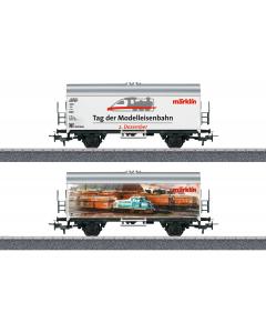 """H0 Koelwagen """"Internationale Dag van de Modelspoorbaan 2019"""" (MAR44260)"""
